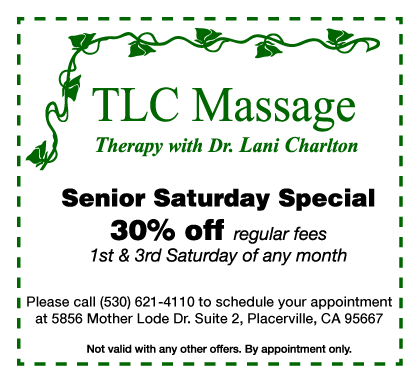 Senior Saturday Special coupon